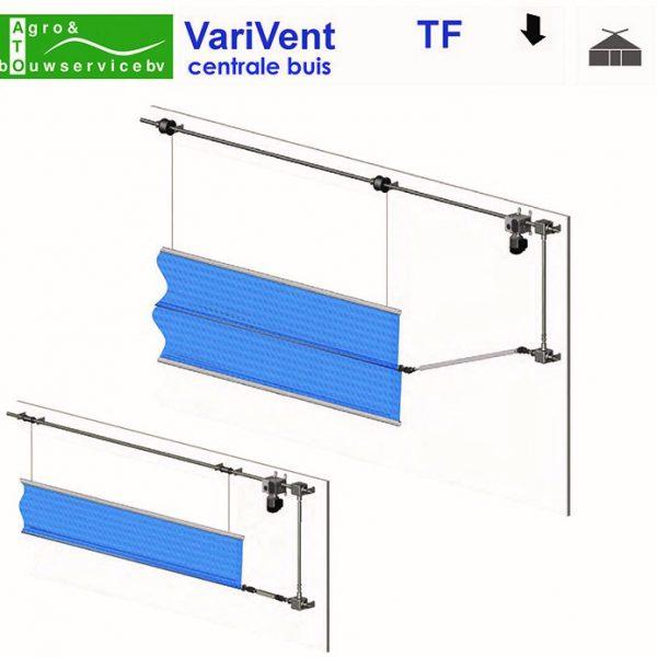 ATO Agro TF-S-D ventilatiesysteem